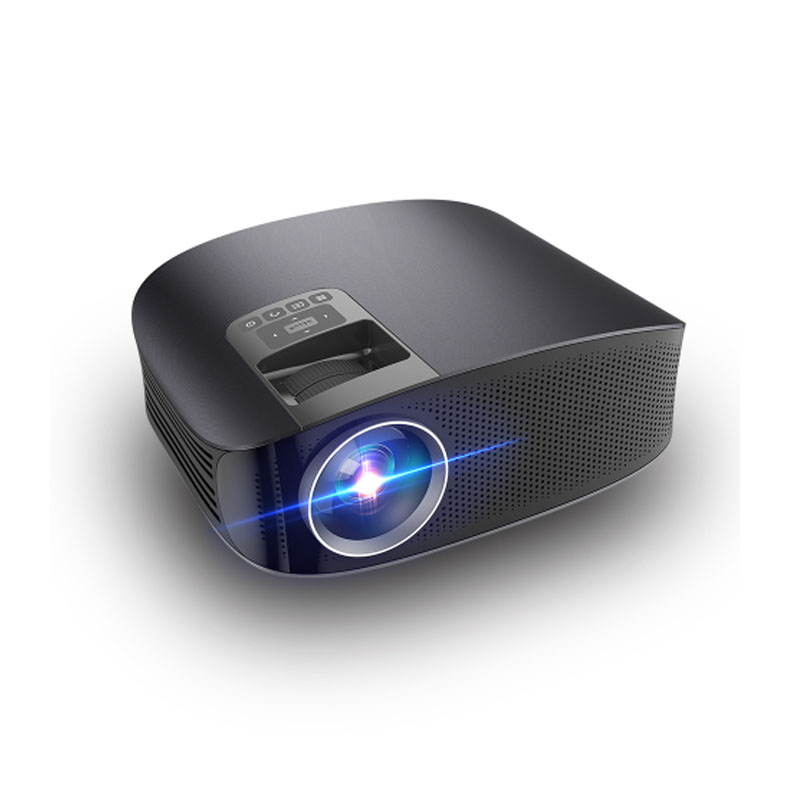 AAO YG600 TFT LCD Projector 150 ANSI Lumens 1280*768 Pixels 3001:1-4000:1 Contrast LED Portable Home Theater Projector