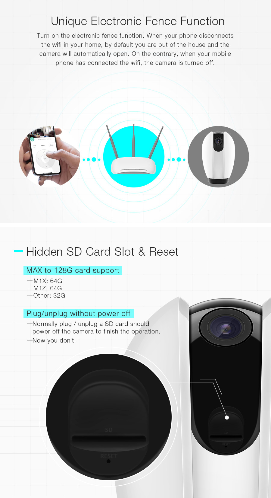 Digoo DG-OTK Strengthen 720P 2MP 2.5mm Cloud Storage Amazon Server Web Service TF Card Storage Wireless WIFI Night Vision Smart Home Security IP Camera Monitor