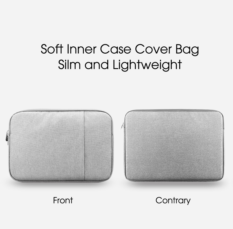 11 Inch Protective Sleeve Soft Inner Case Cover Bag For Tablet PC