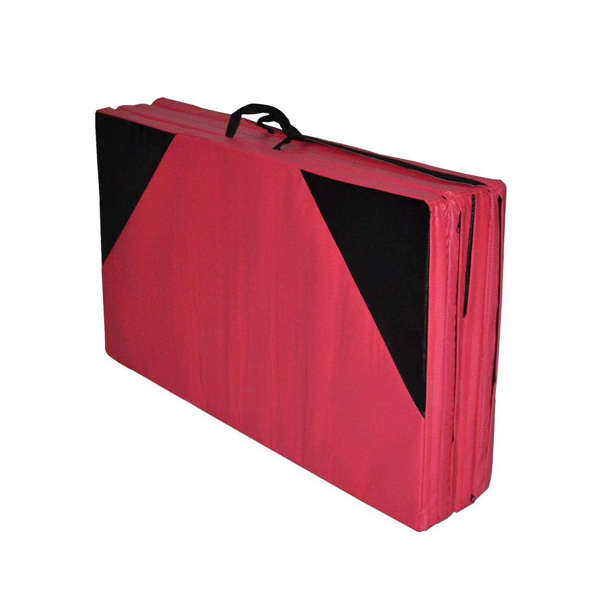 118x47x1.97inch Gymnastics Mat Gym Folding Panel Yoga Exercise Tumbling Fitness Pad