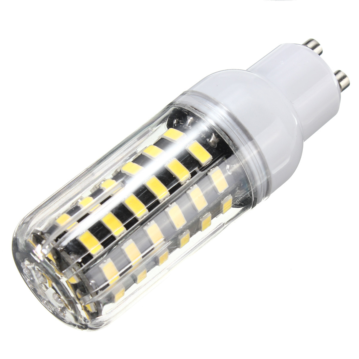 E27 E14 B22 G9 GU10 7W 64 SMD 5733 1000LM LED Warm White White Cover Corn Bulb AC 110V