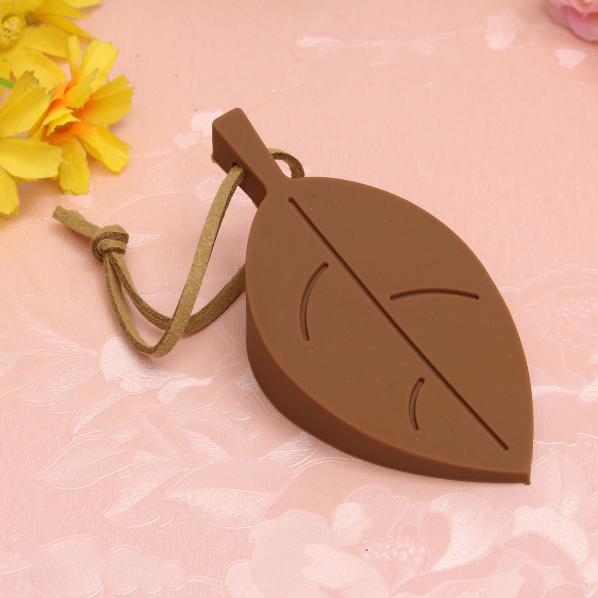Silicone Leaves Design Door Window Stopper Jammer Guard Baby Safety Protector Home