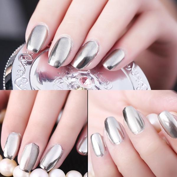 18 colores 15ml empapa apagado metálico metal esmalte de uñas de gel ...