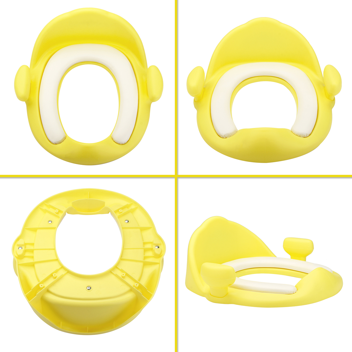 Baby Soft Cushion Toilet Seat Covers Toddler Potty Training Seat Cush With Safe Handle Baby Potties