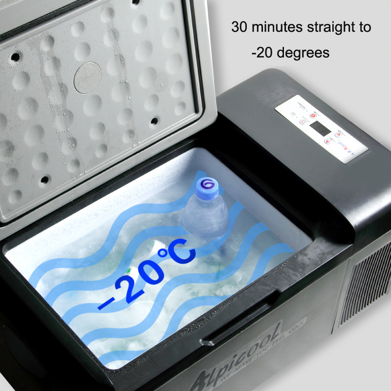 Portable Freezer Camping Car Boating Caravan Bar Mini Refrigerator Fridges by APP 15L 12/24V