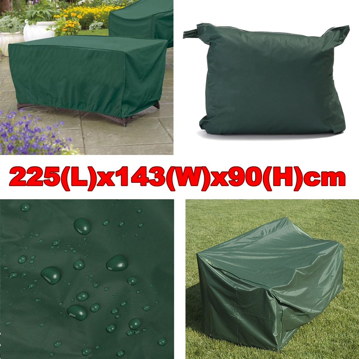 Motorcycle Outdoor Furniture Cover Waterproof Patio Table Chair Rain Snow Dust Protector