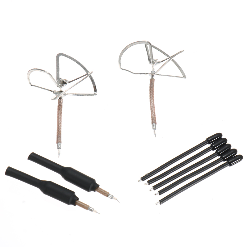Turbowing 5.8GHz 3dBi 3 Leaf Clover/Copper Tube Gain Super Mini FPV Antenna Combo