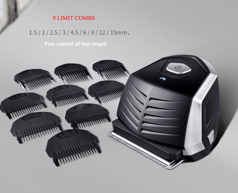 Kemei KM-6032 Hair Clipper Beard Shaver Trimmer Waterproof