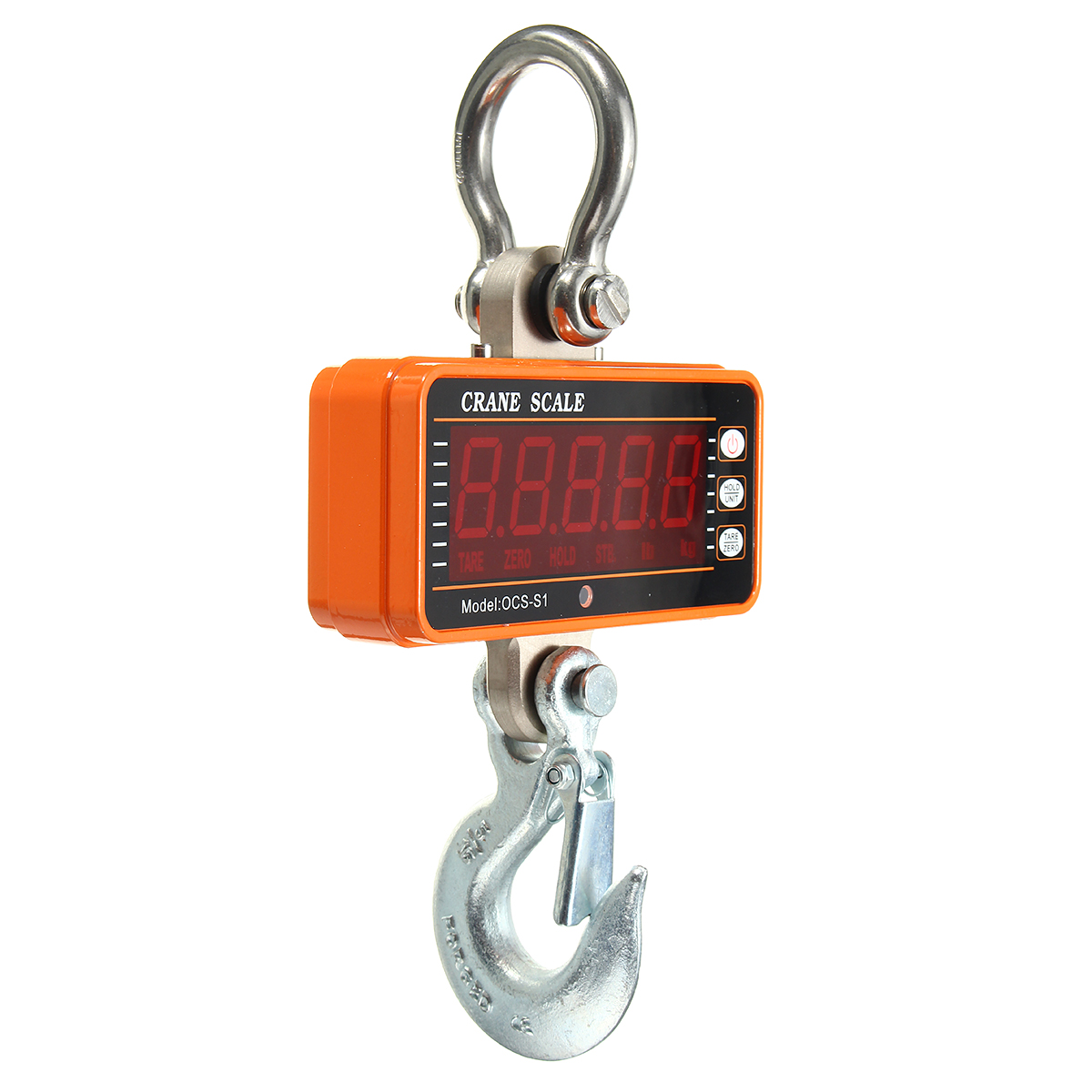 OCS-S1 1000KG High Precision Aluminum Digital Crane Scale Heavy Duty Hanging Weight Scale