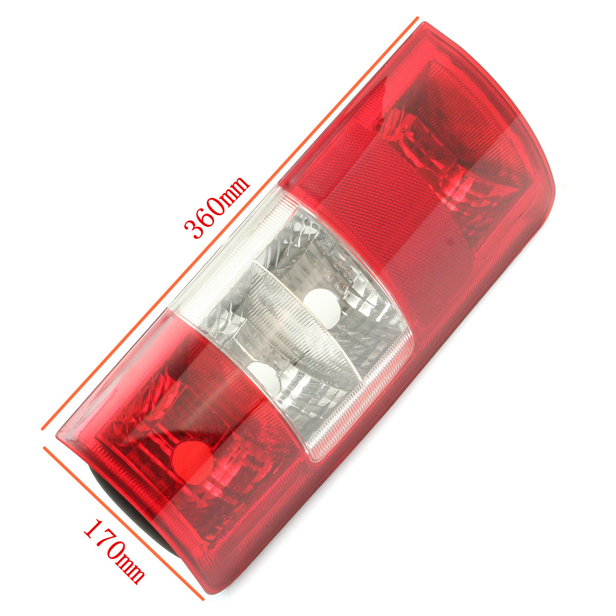 Car Rear Tail Light Cover Backup Lamp Lens Shell Red Pair for Ford Transit Connect 2002-2009