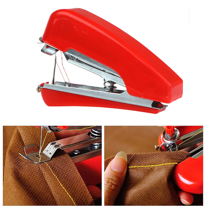 Honana WX-T32 Portable Hand-Held Mini Sewing Machine Clothes Fabric Pocket For DIY Needlework Cordless