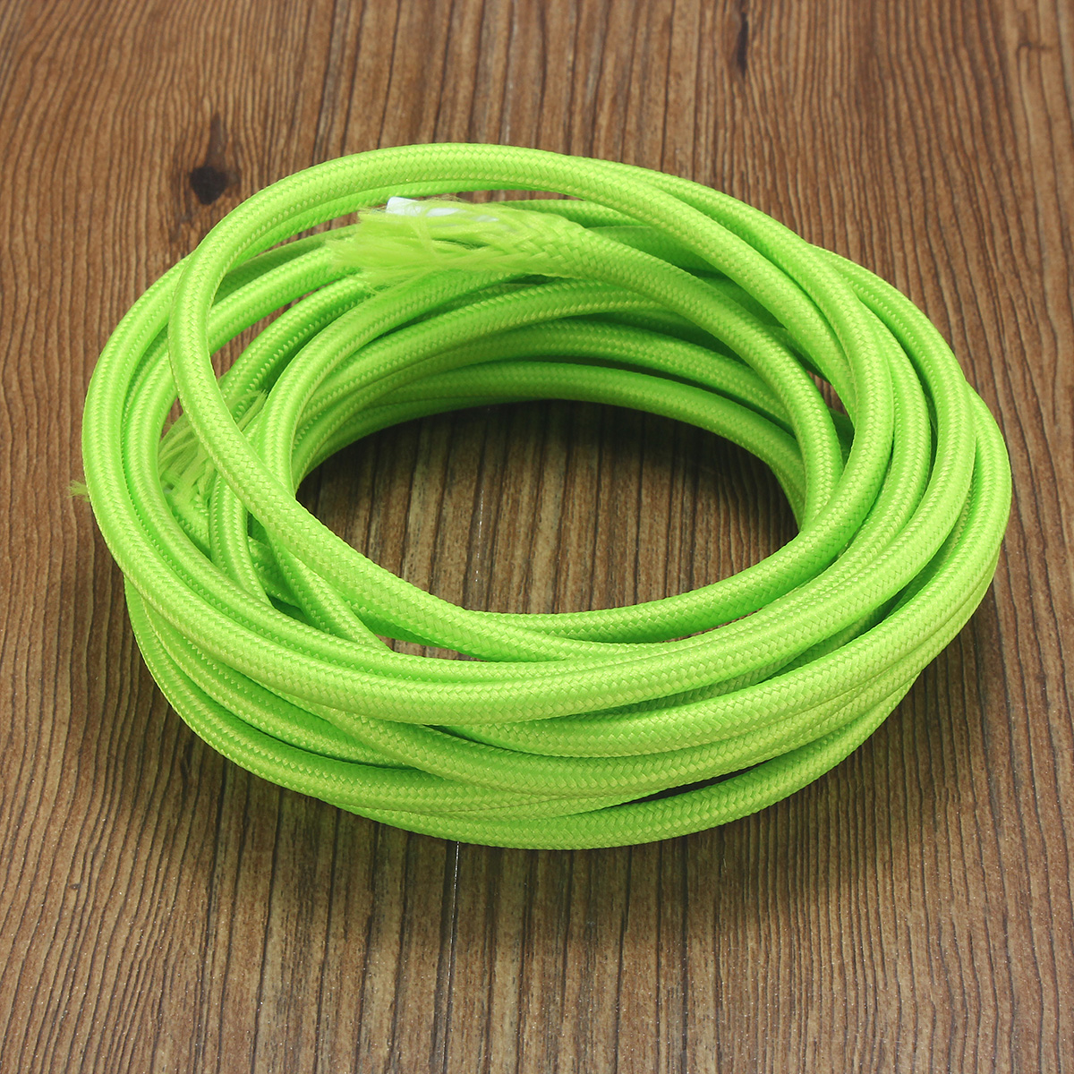 5M 2 Cord Color Vintage Twist Braided Fabric Light Cable Electric Wire