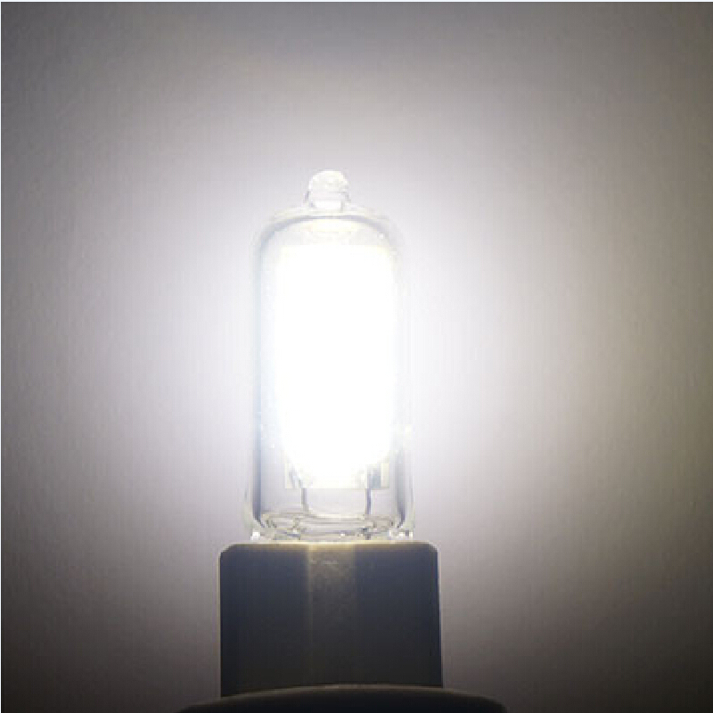 Mini G9 2W LED COB Light Lamp Halogen Chandelier Crystal Light Bulb AC220V