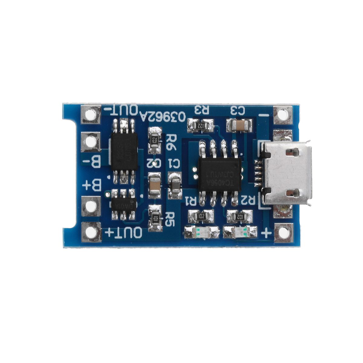 TP4056 Micro USB 5V 1A Lithium Battery Charging Protection Board TE585 Lipo Charger Module