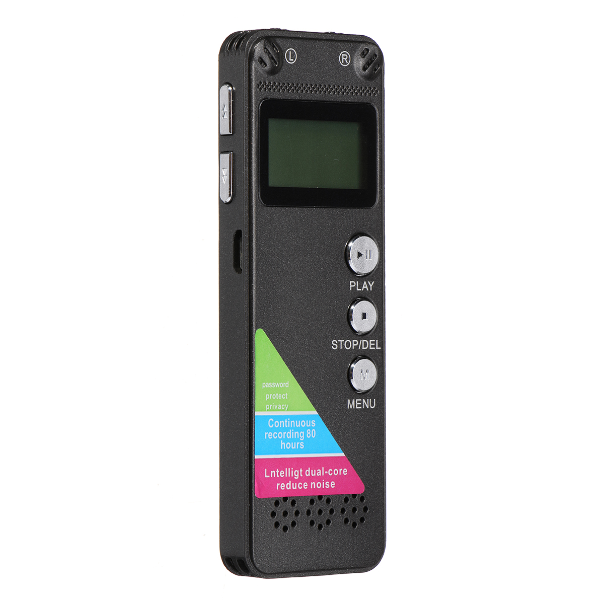 Rechargeable 8G Digital Audio Sound Voice Recorder Pen MP3 Player Recording