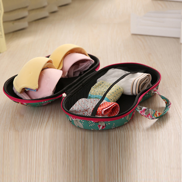 Portable Travel Underwear Bra Storage Bag Storage Box