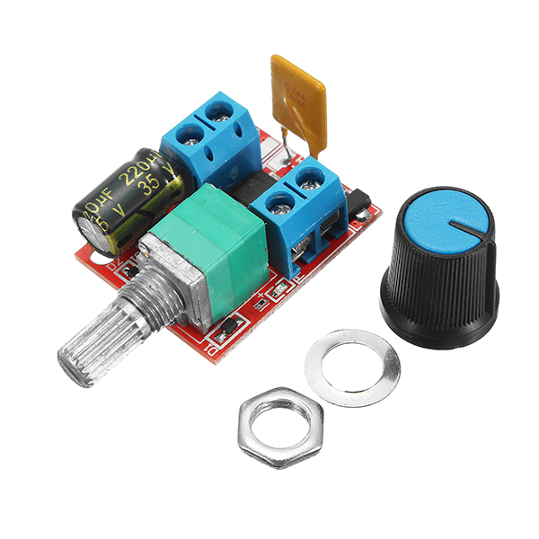 5V-30V DC PWM Speed Controller Mini Electrical Motor Co