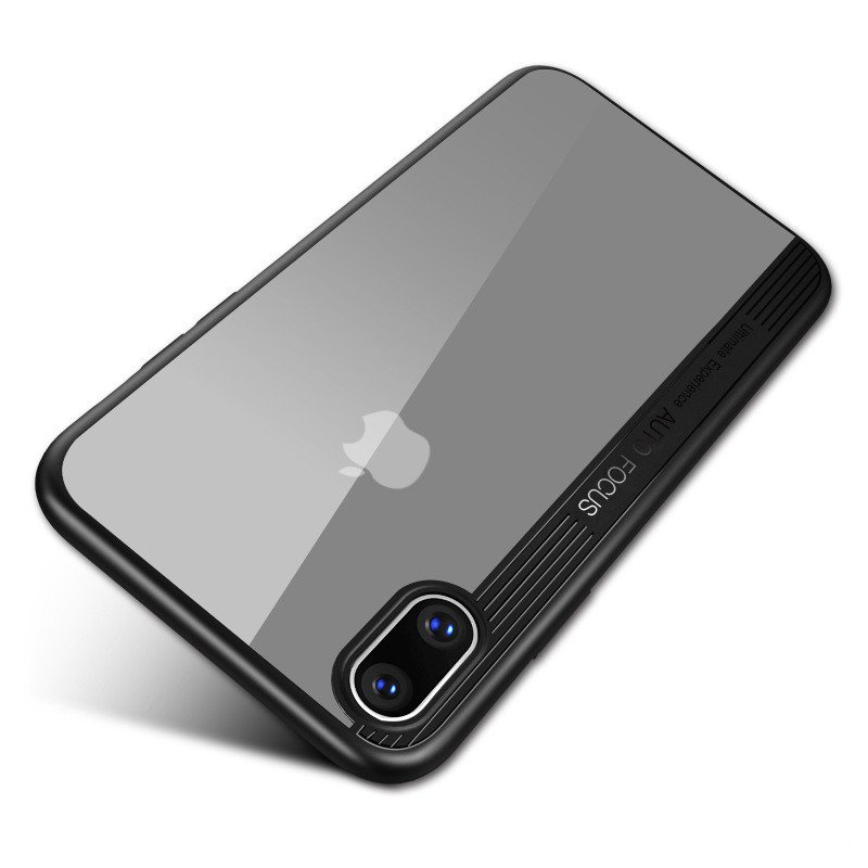 Bakeey Protective Case For iPhone XS Max 6.5' Clear Transparent Shockproof Hybrid PC TPU Back Cover