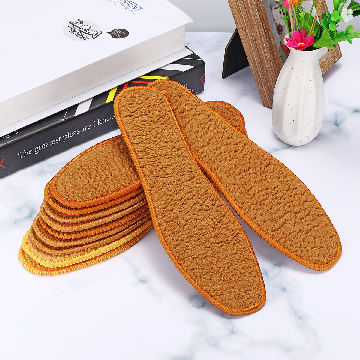 Thicken Warm Insoles Unisex Insole Warm Insole Shoe Boots