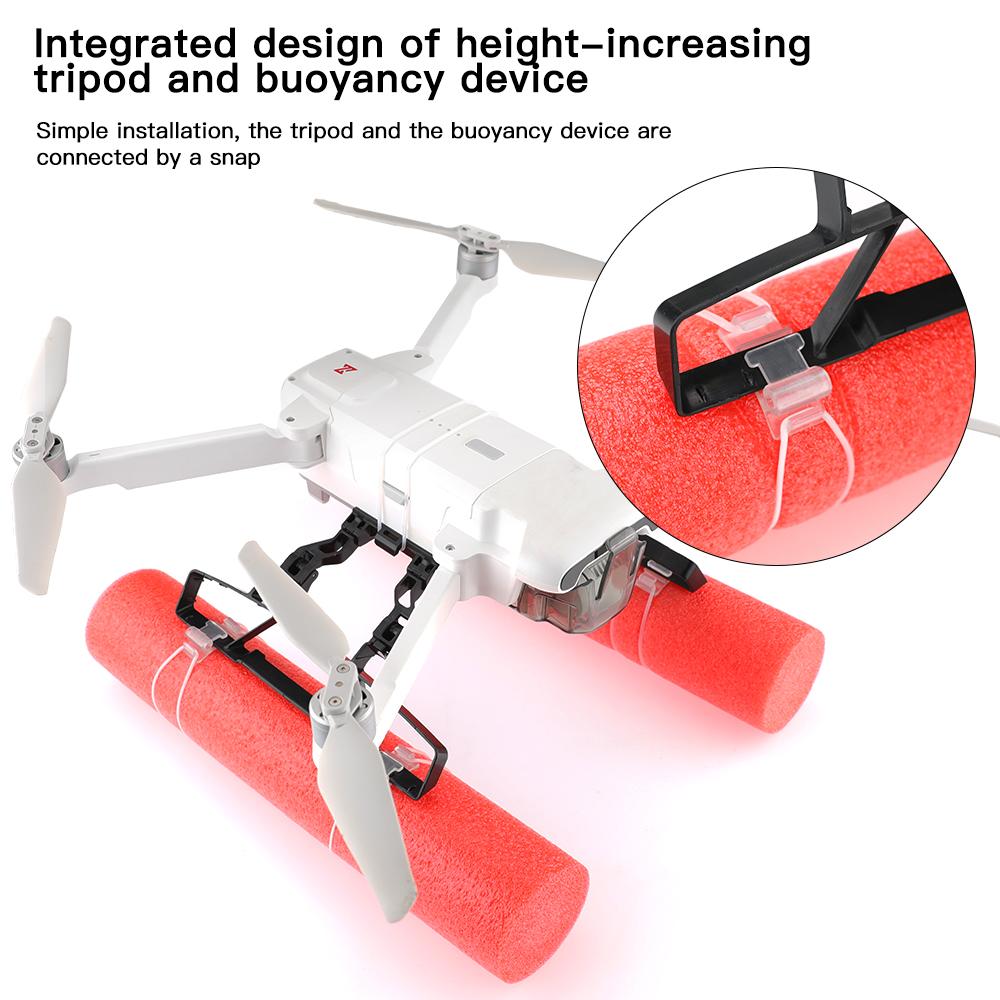 RCSTO LED Extended Heighten Leg Tripod Damping Landing Gear Training Kit Floating Kit for FIMI X8 SE 2020 RC Quadcopter