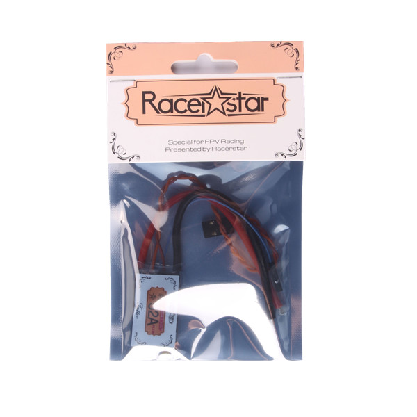 Racerstar Tattoo+ 52A BLheli_32 72MHz GD32F150 2-6S ESC Dshot1200 Ready Current Sensor LED Telemetry RC Drone