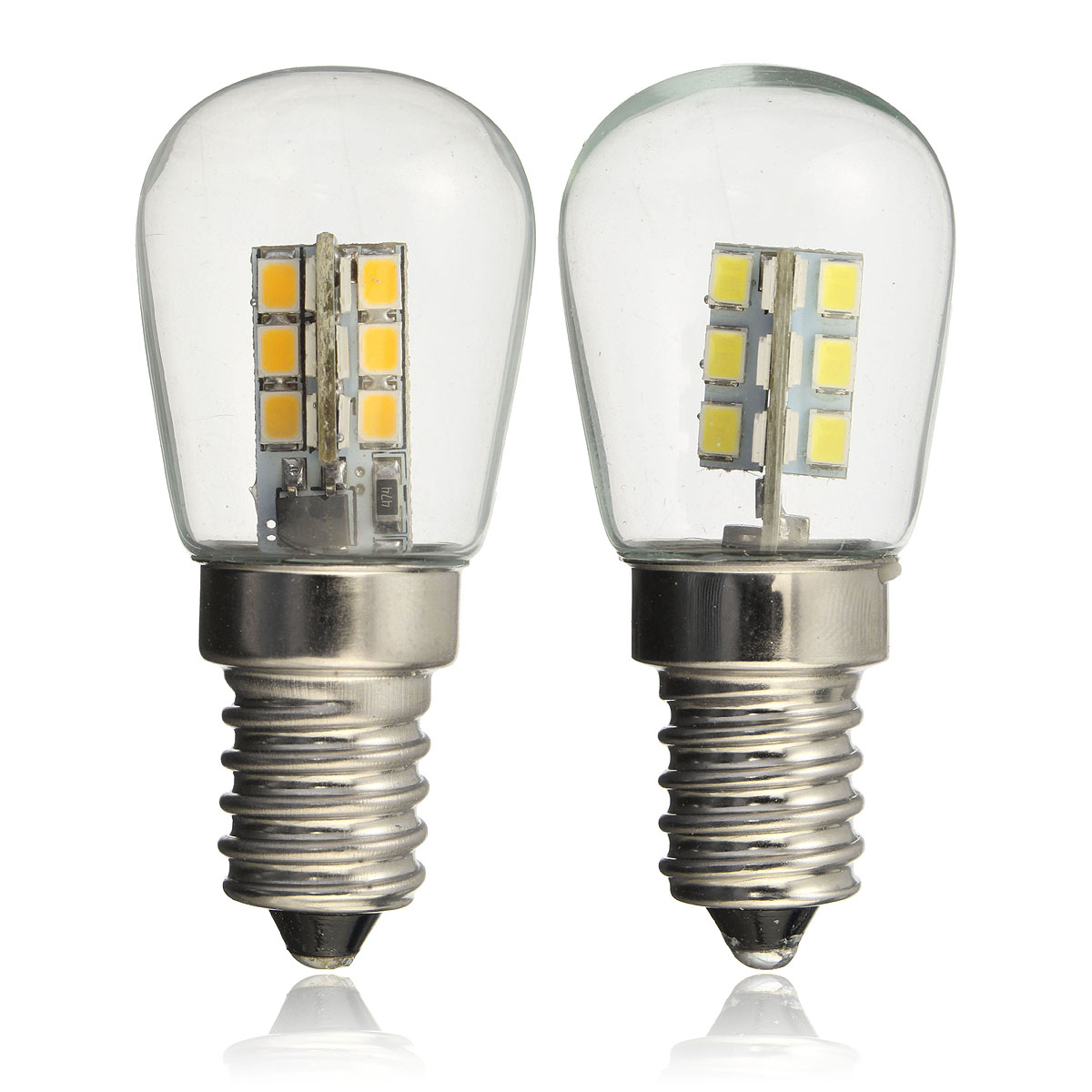 E14 3W SMD3014 LED Fridge Refrigerator Corn Light Bulb Pendant Crystal Chandelier Spot Lightt 220V