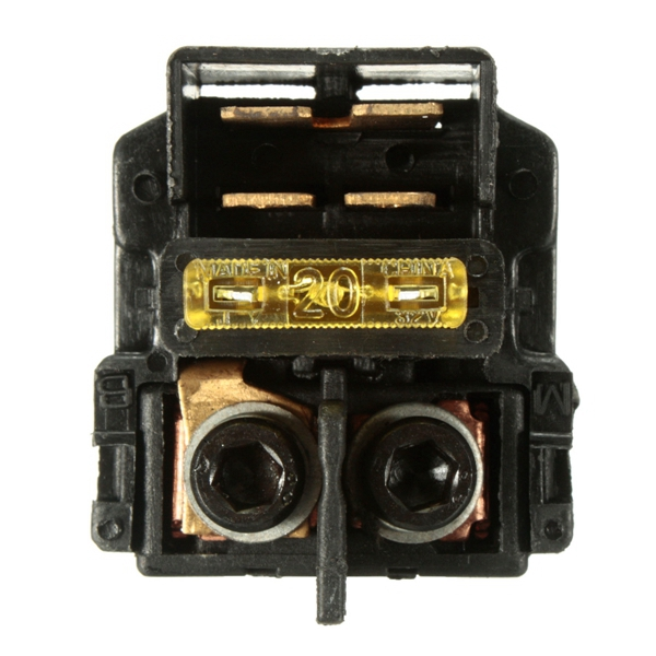 Motorcycle Part Starter Solenoid Relay For Honda Kawasaki ZX750 NINJA ZX7RR ZX-7R
