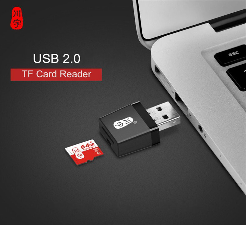 Universal Mini Portable USB 2.0 TF Card Memory Card Reader for Tablet PC Mobile Phone