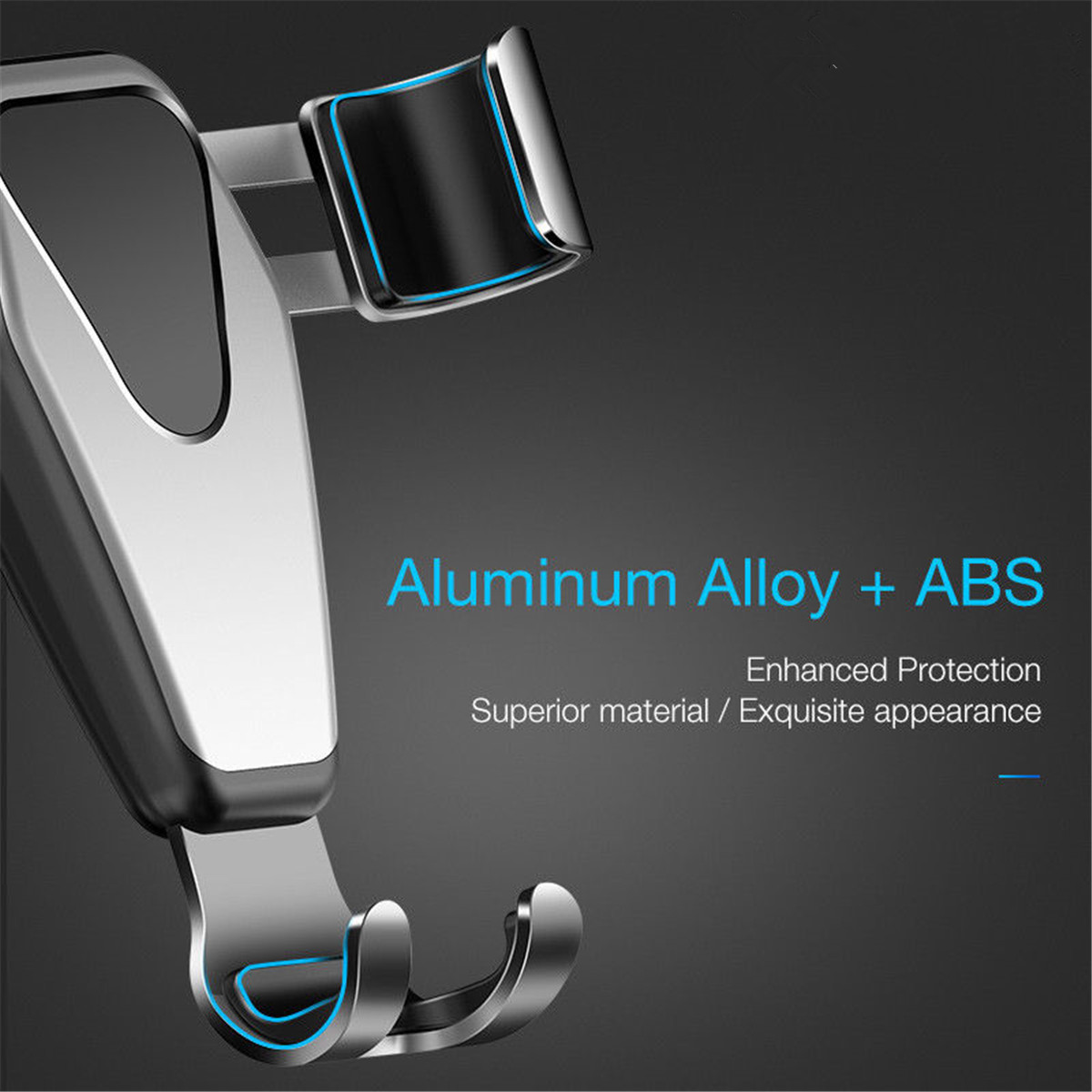 Gravity Linkage Automatical Lock 360° Rotation Car Mount Air Vent Holder for Xiaomi Mobile Phone 4.0 - 6.0