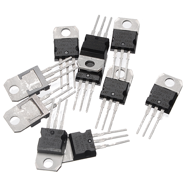 30pcs L7805CV TO220 L7805 TO-220 7805 LM7805 MC7805 Ori