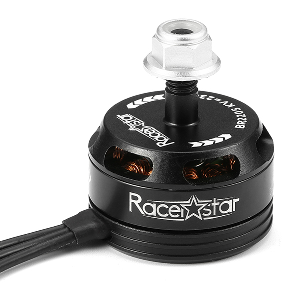4X Racerstar Racing Edition 2205 BR2205 2300KV 2-4S Brushless Motor Black For 210 X220 250 280 RC Drone