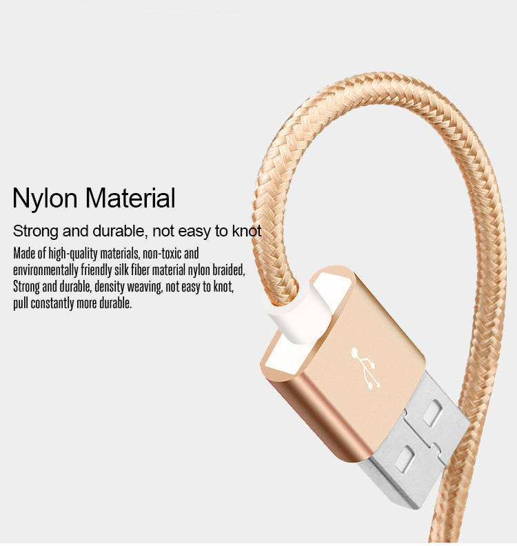 Bakeey 2.1A Micro USB Type C Nylon Braided Wire Fast Charging Data Cable For Xiaomi Mi8 Mi9 HUAWEI P20 Mate 20 S9 S10 Note