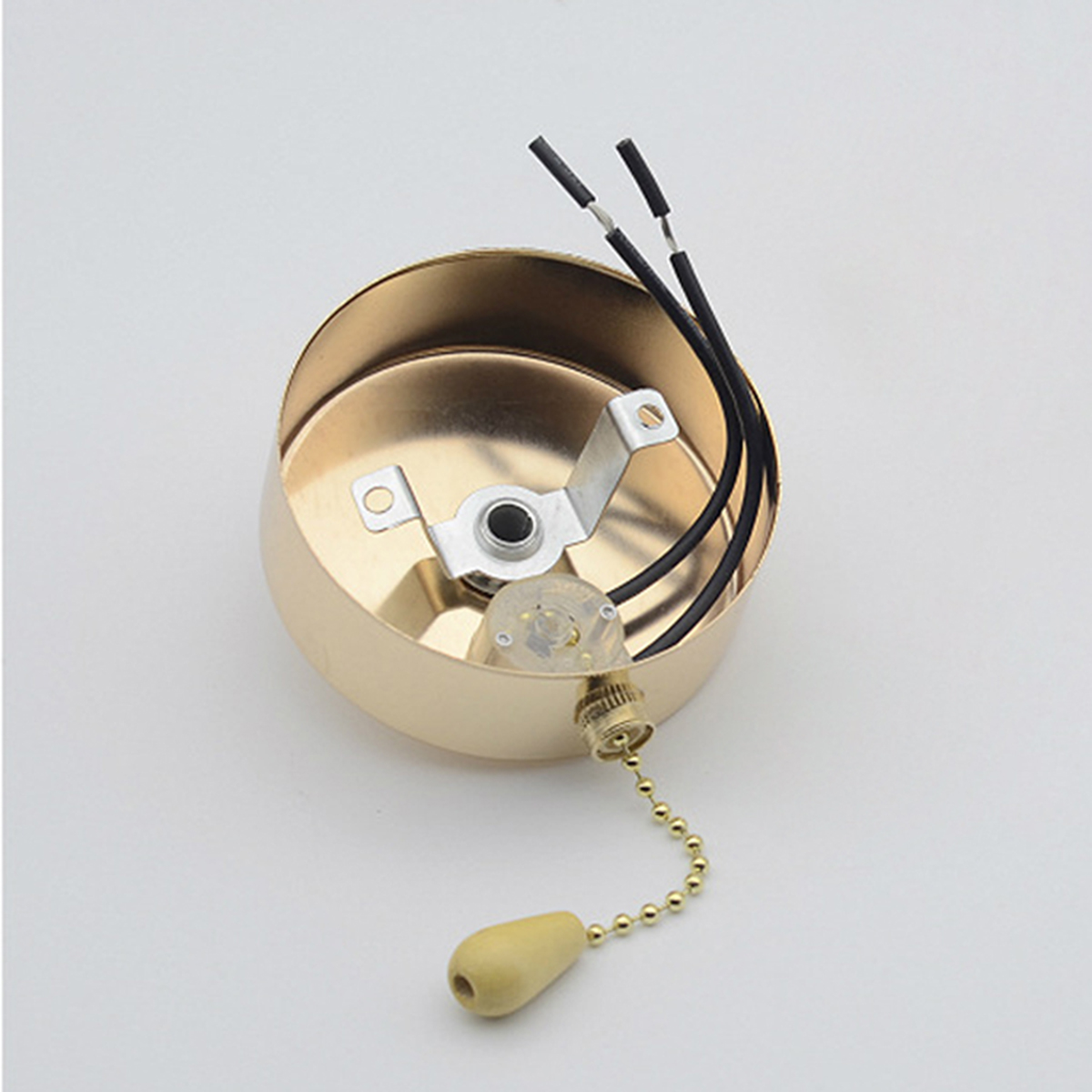 AC220-240V 600W DIY Pull Chain Light Switch for Ceiling Fan Lamp