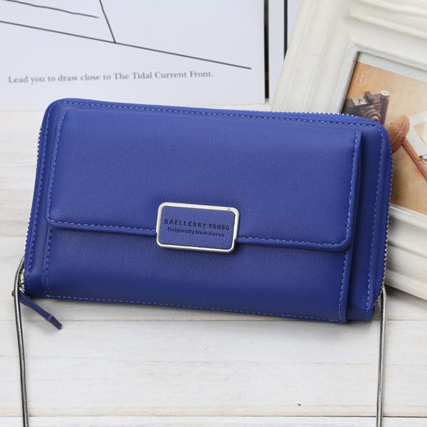 Baellerry Women Faux Leather Multifunctional Wallet