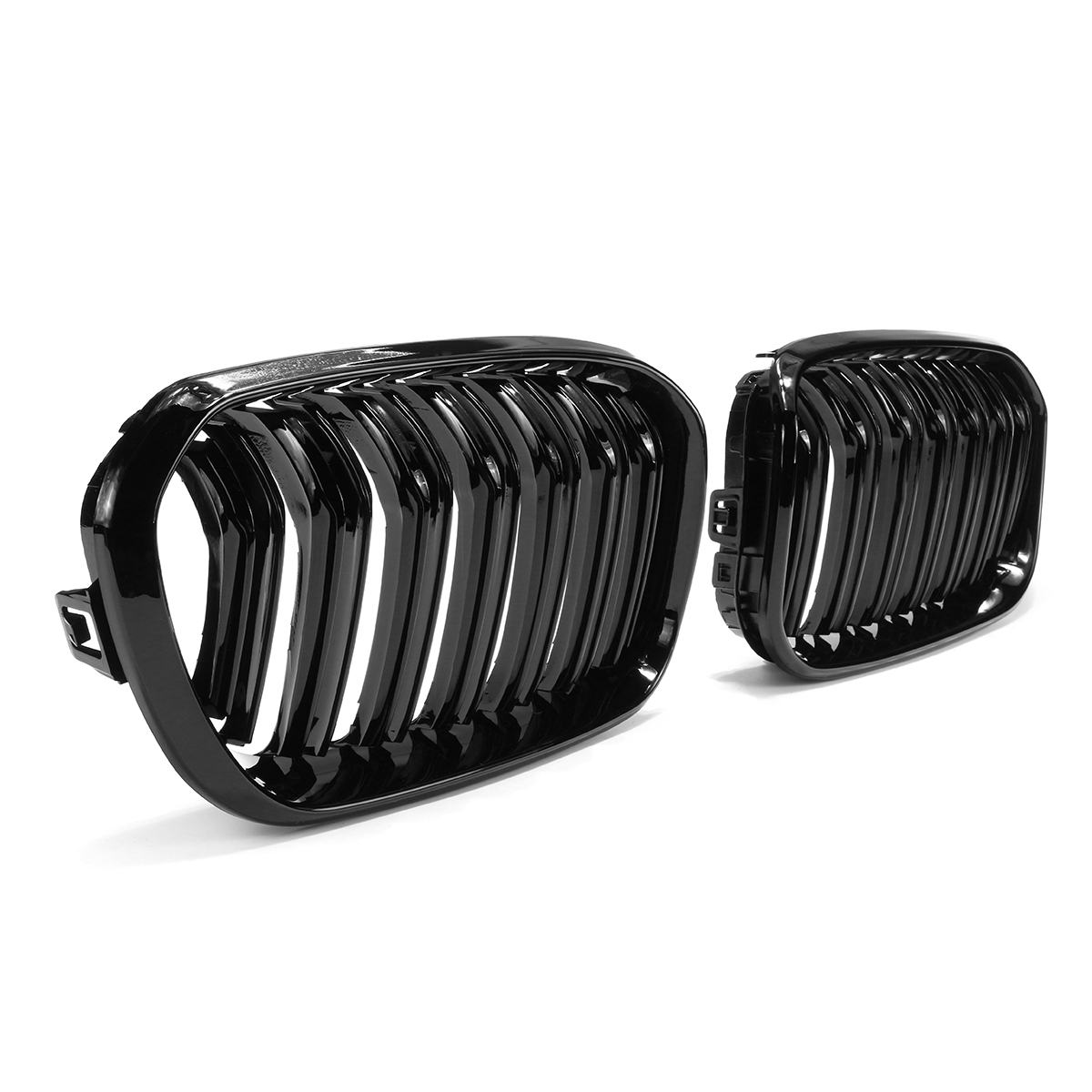 Gloss Black Front Kidney Grill Grille For BMW F20 F21 1 Series 15-17