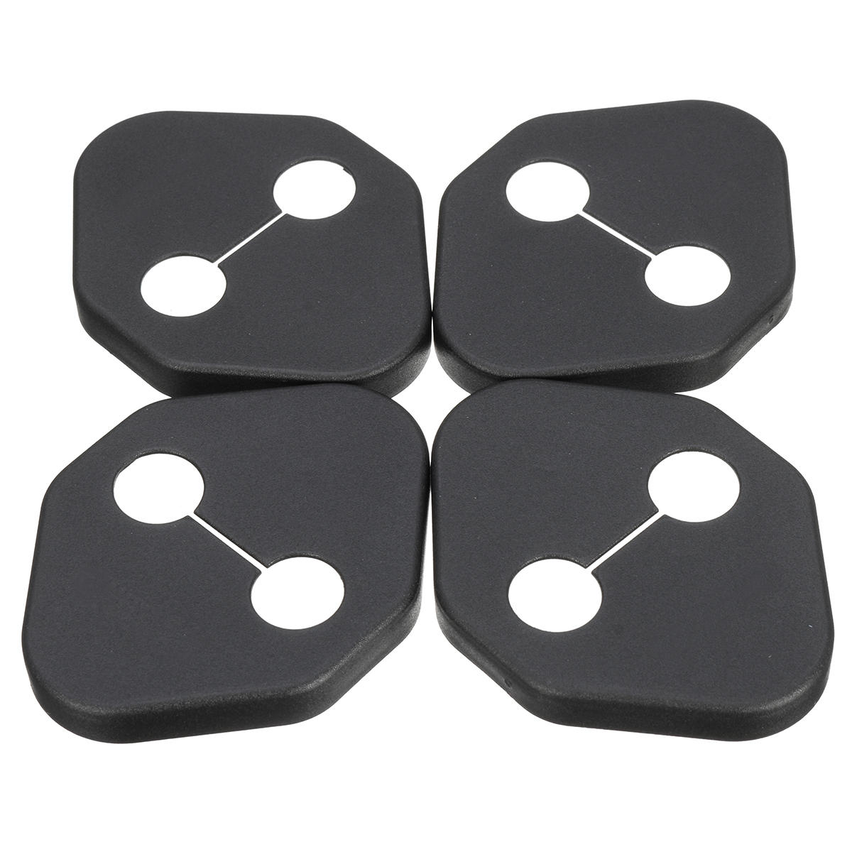 4Pcs Door Lock Ring Protective Car Cover Case For Honda Accord Civic CR-V