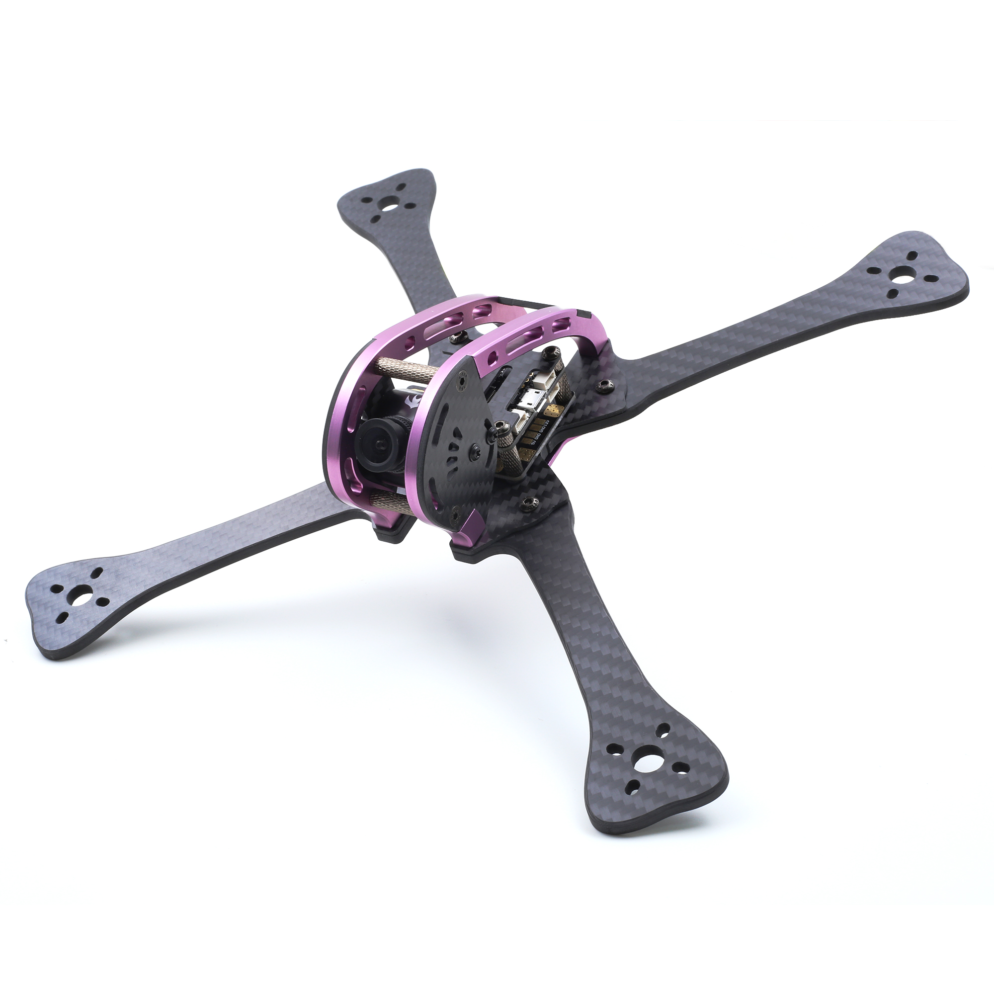 GEPRC GEP LX Leopard Purple Green Edition LX5 220mm FPV Racing Frame RC Drone 4mm Arm With PDB 5V & 12V