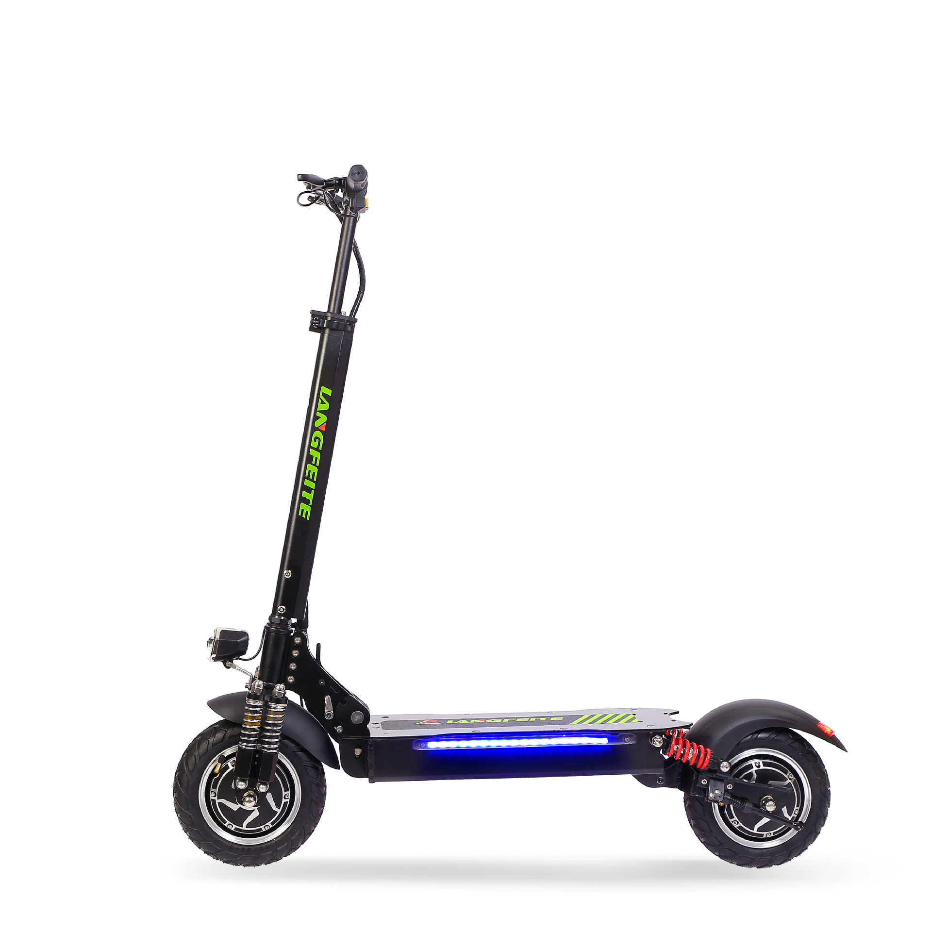 LANGFEITE L8 20.8Ah 48V 800W*2 Double Motor Folding Electric Scooter Color Display DC Brushless Motor 45km/h Top Speed 55km Range EU Plug