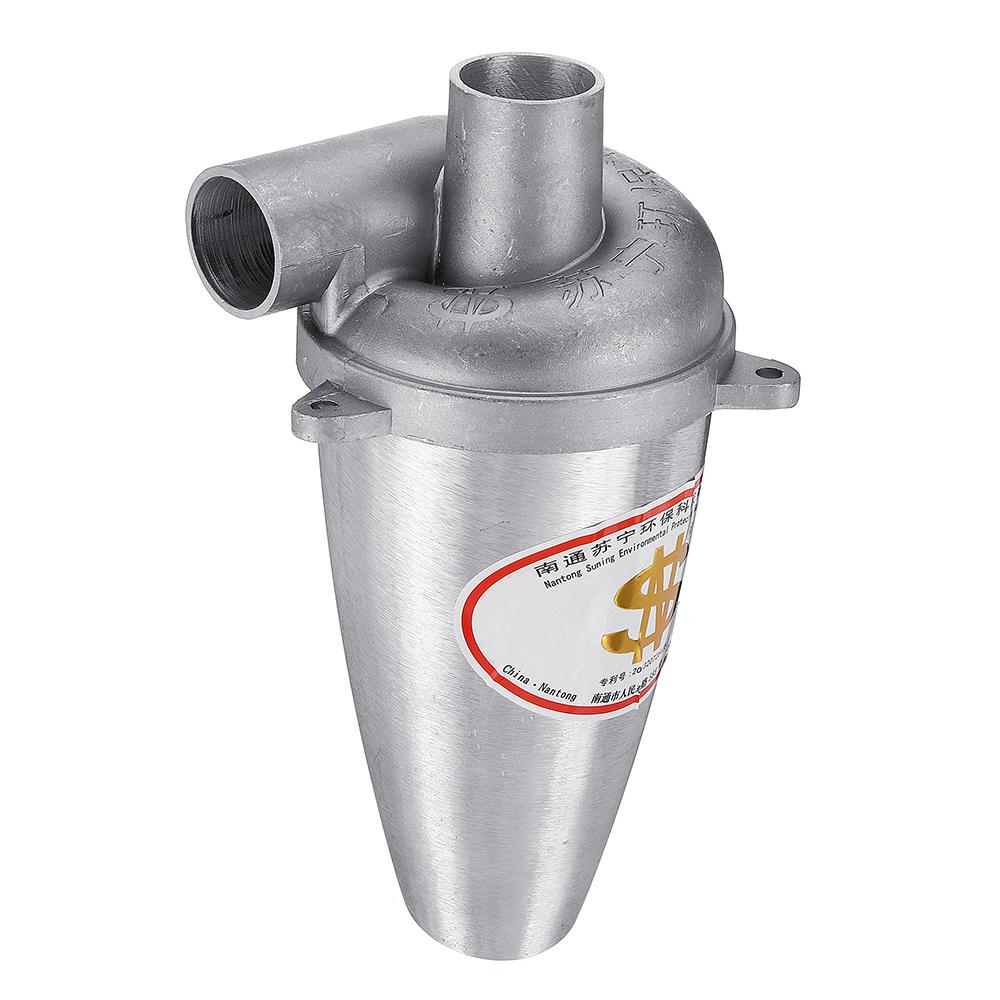 Liga de alumínio DIY SN25T5 Vice-Turbocharged Cyclone Coletor de pó Cyclone Separador Industrail Vaccum Cleaner Filter Set