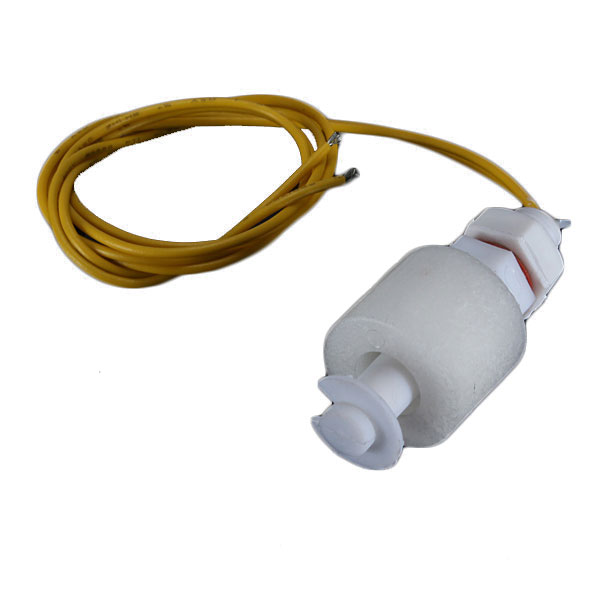 PP Liquid Water Level Sensor Horizontal Float Switch Down White