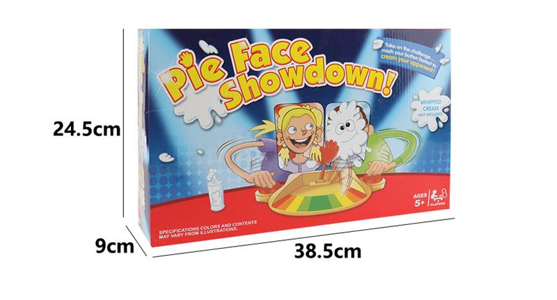 Double Cream Hit Face Smashing Machine Fun Gadget Toy For Kids Children Birthday Gift