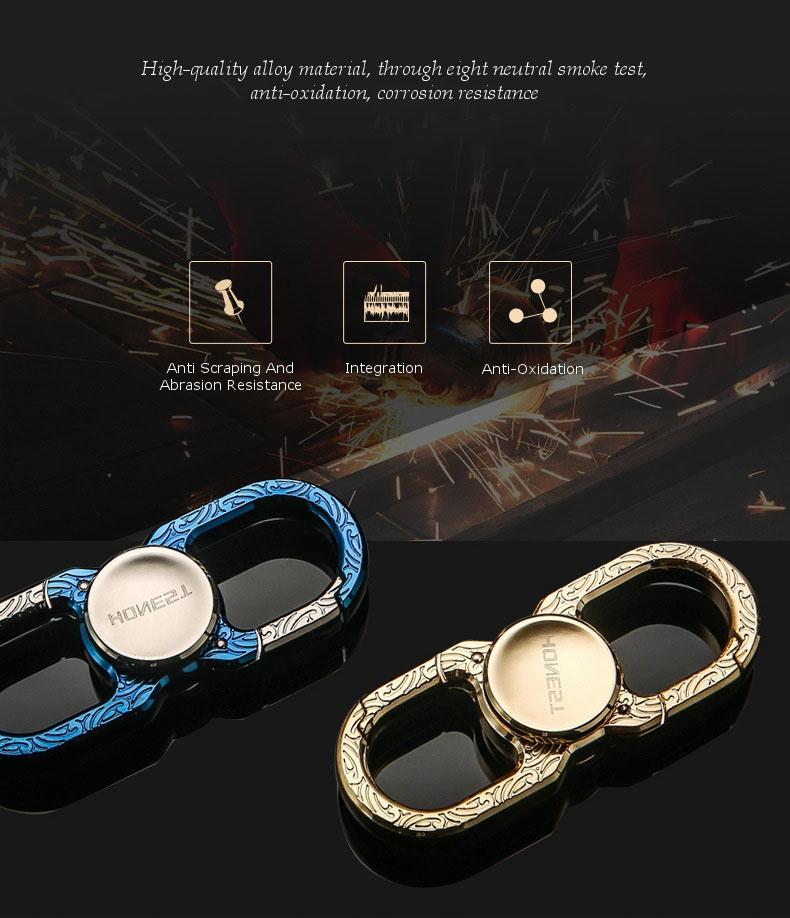 Multi-Function Keychain Finger Spiral Alloy Hand Spinner