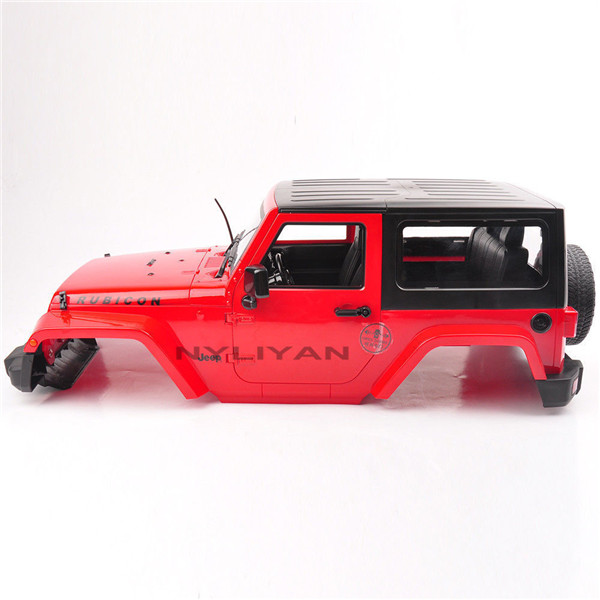 Red Hard Plastic 1:10 BODY SHELL for RC Model Climbing Car SCX10 D90