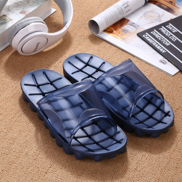 Unisex Slipper Home Bathroom Indoor Comfortable Fashion Slip On Shoes