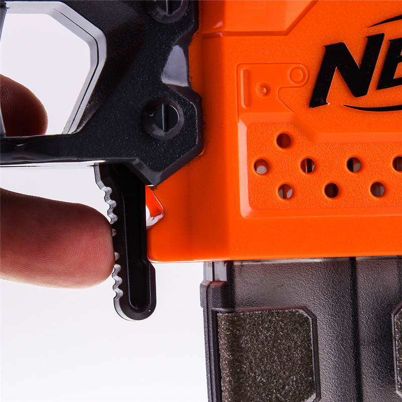 WORKER Mod Magazine Release Button for NERF ELITE STRYFE BLASTER Modify Toy Color Orange