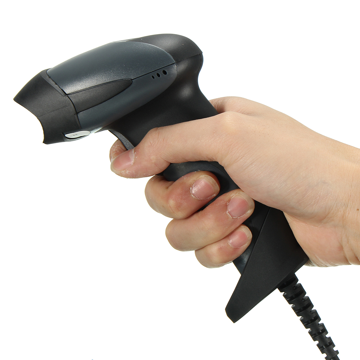 Handheld USB Port Laser Barcode Scanner Barcode Reader For POS Computer Shop