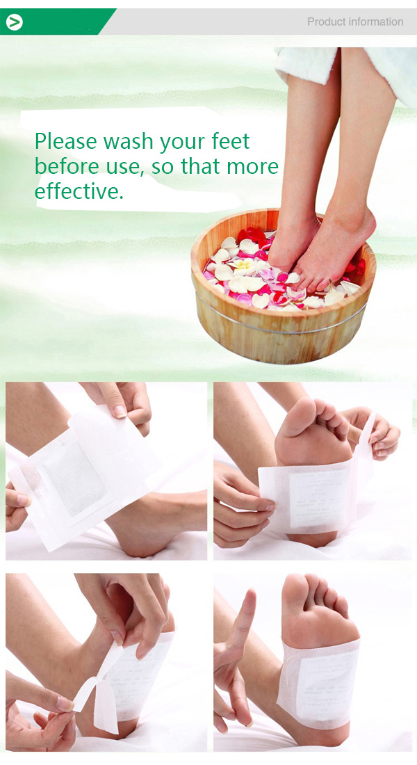 10Pcs Verseo Detox Foot Natural Cleansing Patch Body Relief Toxin Feet Slimming Cleansing Herbal Pad