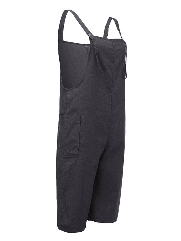 O-Newe Strap Pocket Jumpsuit