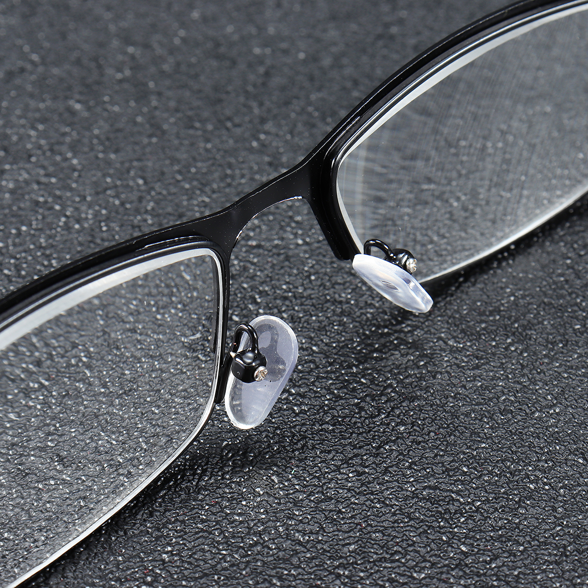 Minleaf Metal Frame Anti Fatigue Presbyopic Reading Glasses