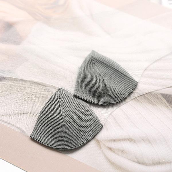 Women Girl Ultra-thin Transparent Breathable Socks